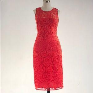 NWT JCrew Lace Sheath Dress